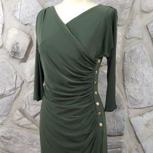 Ralph Lauren Dresses - Sale! Ralph Lauren Green Jersey Dress